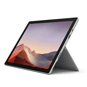 Microsoft Surface Pro 7 Tablet, 2-in-1, 12,3 inch (31,2 mm), platinagrijs (amazon.DE)