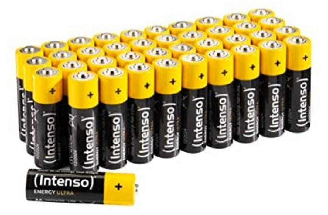 Intenso Energy Ultra AA batterijen, 40 stuks