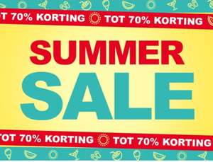 Summer Sale tot 75% @ Scapino