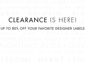 [UPDATE] [CYBER MONDAY] Clearance sale met tot -80% korting + 20% EXTRA @ The Outnet