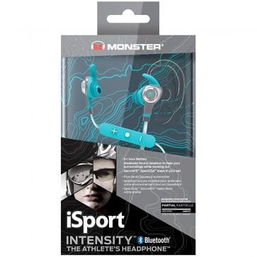 Monster iSport Intensity In-Ear Wireless Headphones - Blue