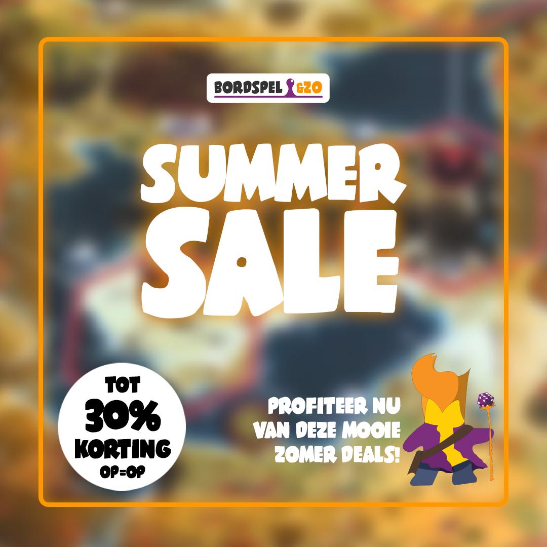 Bordspel&zo - Summer Sale - tot 30% korting