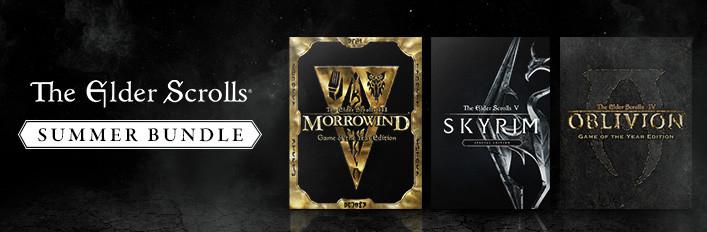 [Steam/PC] Morrowind GOTY, Oblivion GOTY en Skyrim Special Edition €23,82 @Steam