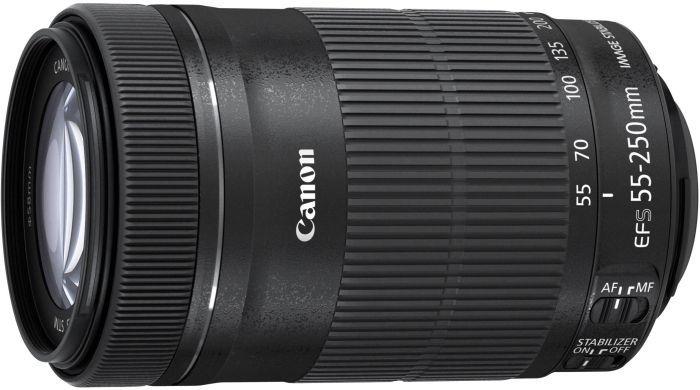 [Black Friday] Canon EFS 55-250 IS STM voor €96 (na kassakorting en cashback) @ Klein