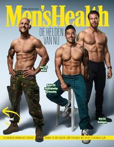 Tijdschrift Mens Health voor 10 cent