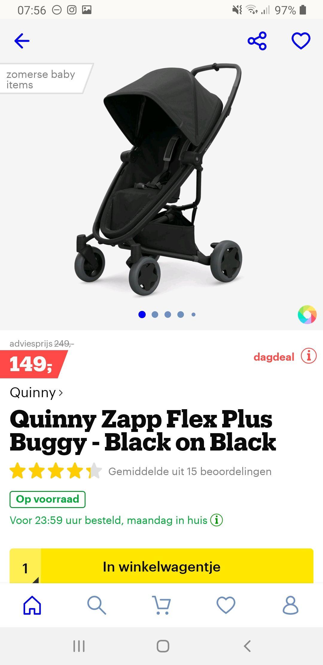 Quinny Zapp flex plus buggy @bol.com
