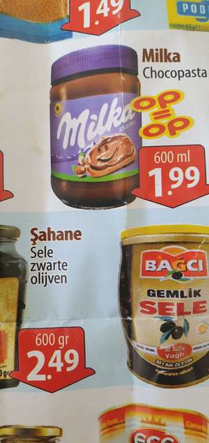 Milka chocopasta 600ml Sahan