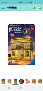 Ravensburger 125227 Arc De Triomphe Night Edition - 3D - 216 Stukjes