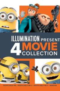 Despicable Me 1-3 & Minions (4K HDR)