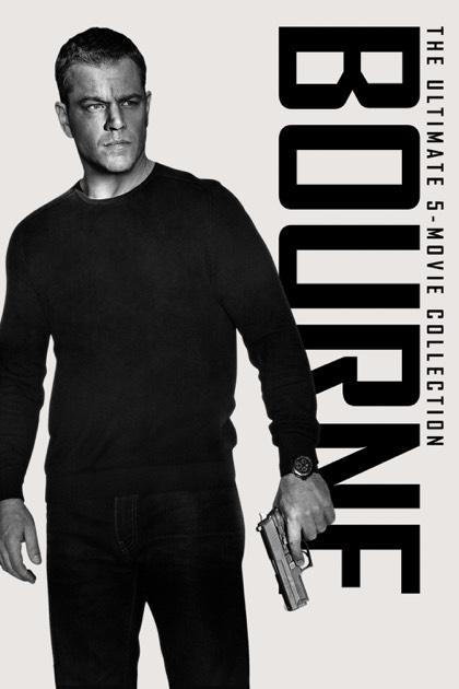Bourne 1-5 (4K HDR)