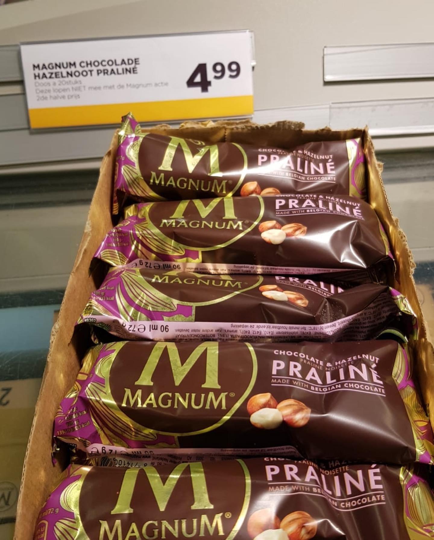 [lokaal Dronten] Magnum praline (20st)