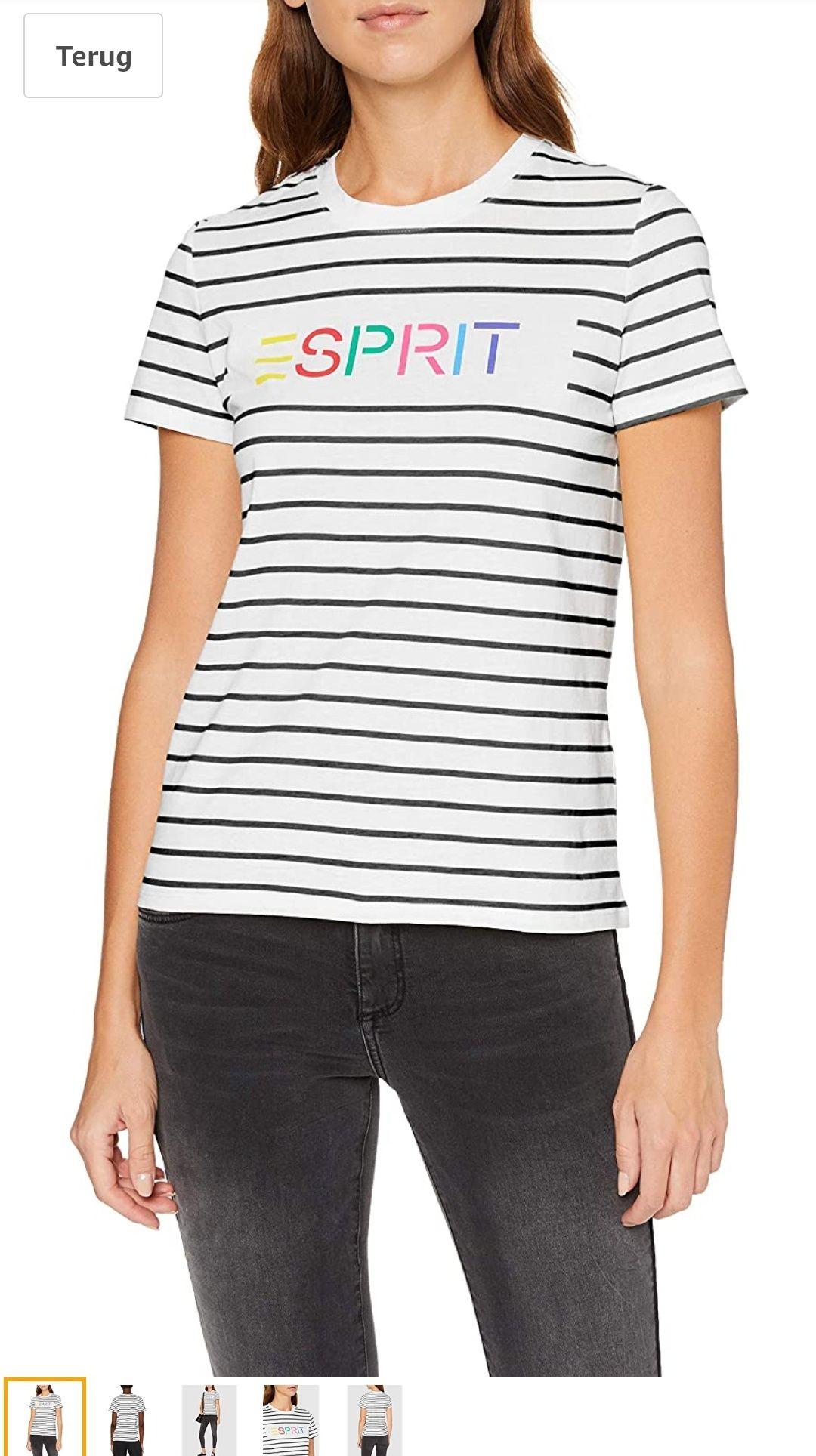 Esprit dames T-shirt alleen nog maat M