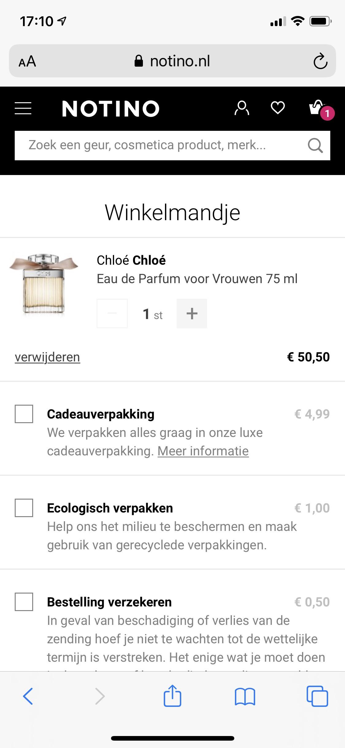 Chloe Signature Eau de Parfum 75 ml €42,92 + €3,99 verzendkosten
