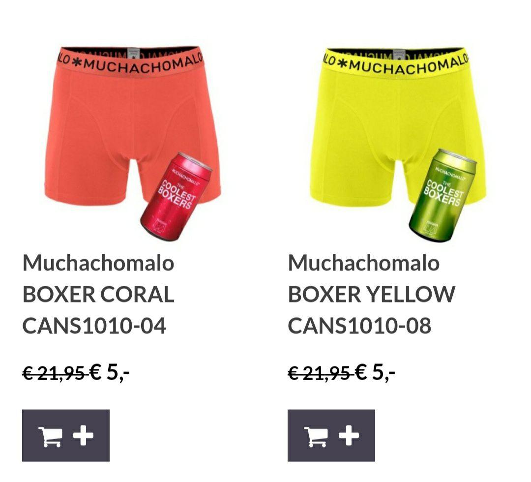 Muchachomalo boxershorts voor 5 euro