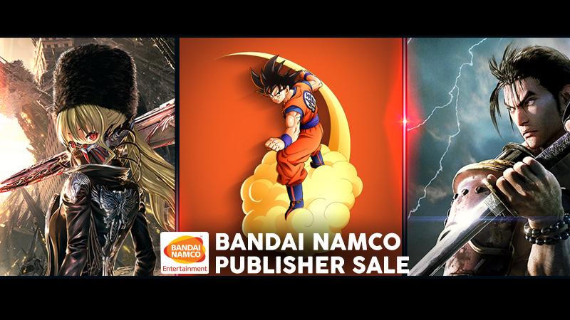 [STEAM/PC] Bandai Namco Publisher Sale 2020