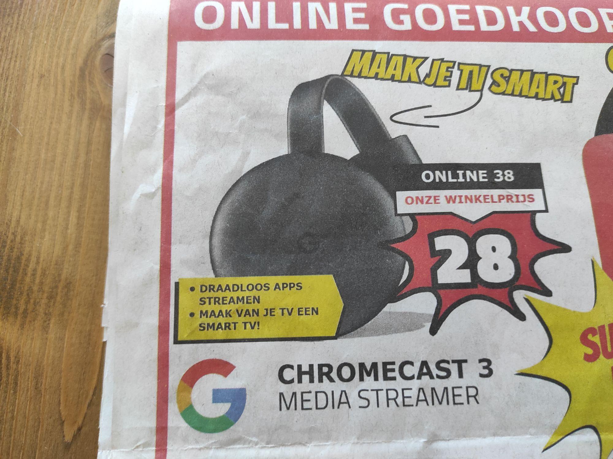 [LOKAAL] Chromecast v3 (2018)