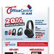 €15 korting bij besteding vanaf €79 (excl btw) bij Office Centre (niet online)
