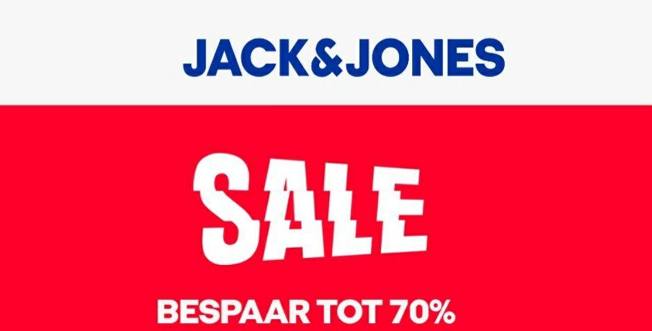 Jack en Jones 20% tot 70% korting