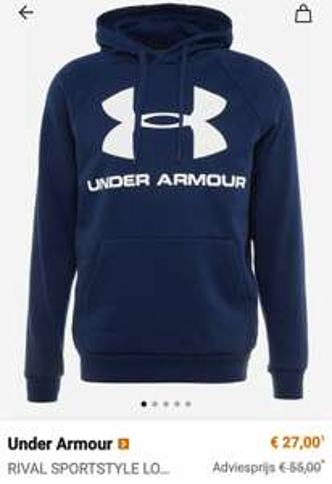Under Armour kleding + schoenen voor mannen, vrouwen & kids