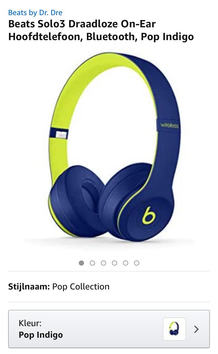 Beats Solo3 Pop indigo 4 verschillende kleuren