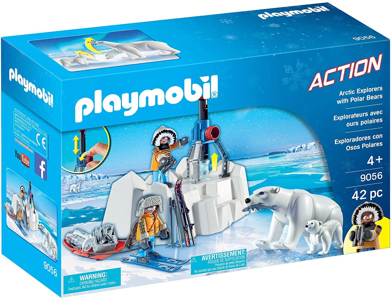 Playmobil Poolreizigers met ijsberen (9056) voor €6,97 @ Amazon NL
