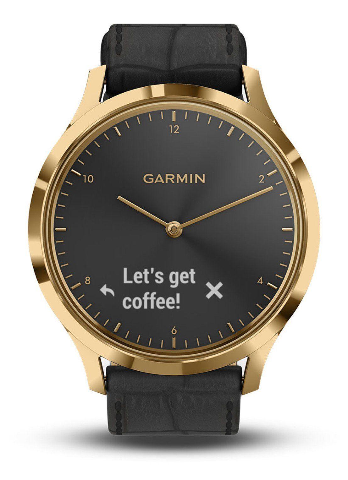 Garmin Vivomove HR Premium horloge 010-01850-AC