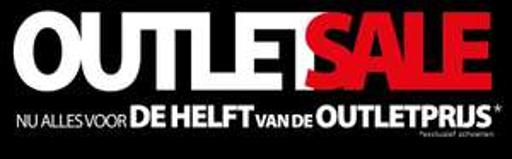 50% EXTRA korting op outlet (50-70% korting) @ Voorwinden