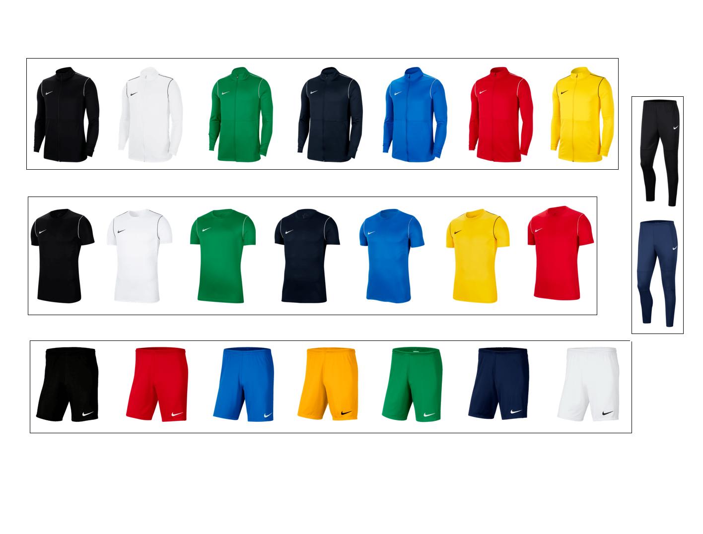 Nike trainingsset voor het hele jaar door (volwassen maten) voor €49,90 met verz.