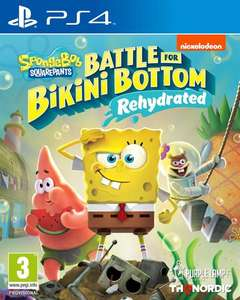Spongebob SquarePants: Battle for Bikini Bottom - Rehydrated (PS4)