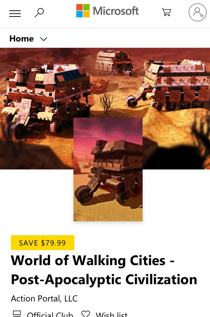 (Gratis game) World of Walking Cities