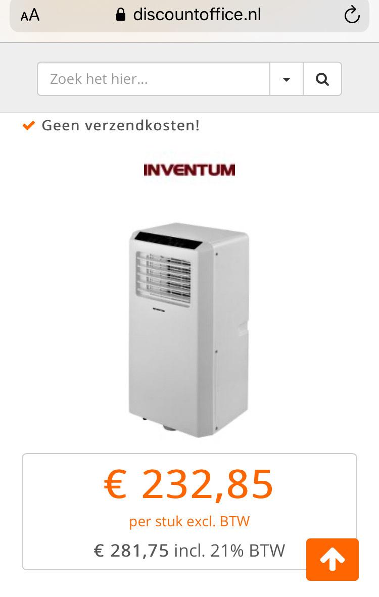 Airconditioner Inventum AC901 @DiscountOffice