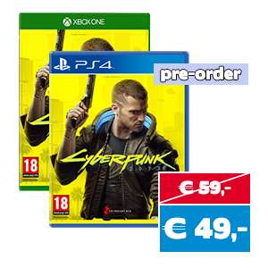 Cyberpunk 2077 PS4/XB1 pre-order @ Gameshop Twente