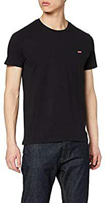 Levi's heren t-shirt (zwart/patch)