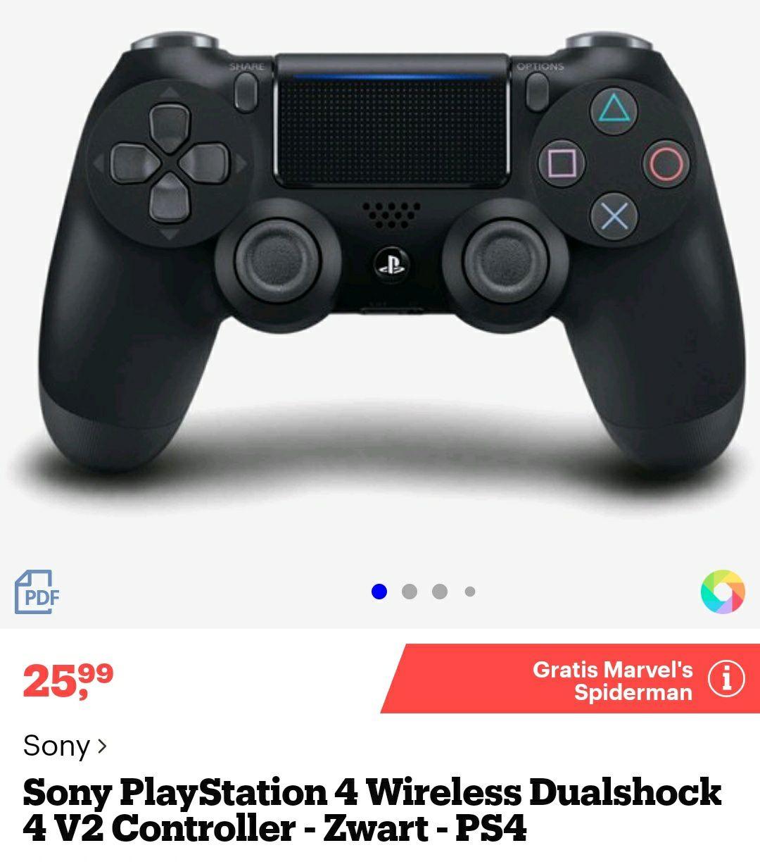 Dualshock 4 v2 + Spiderman