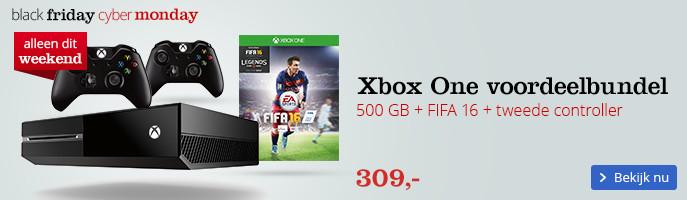 Voordeelbundel: Gratis tweede Xbox One controller