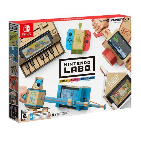 Nintendo Labo - Mixpakket (toy-con 01) @MediaMarkt Zwolle