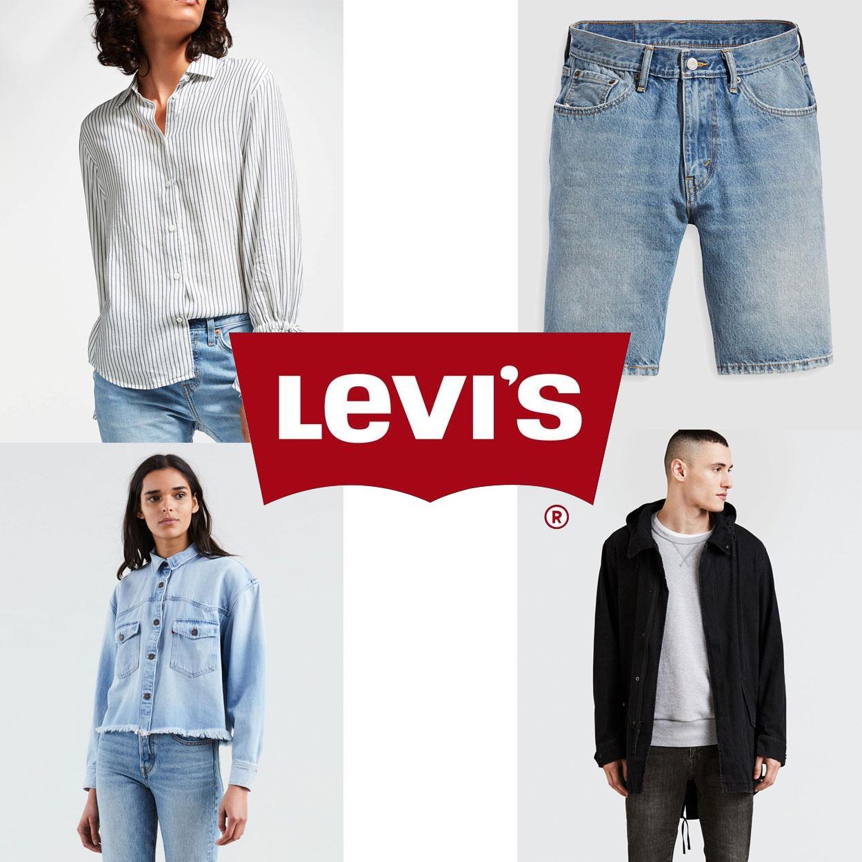 Levi's dames & heren -70% @ Maison Lab