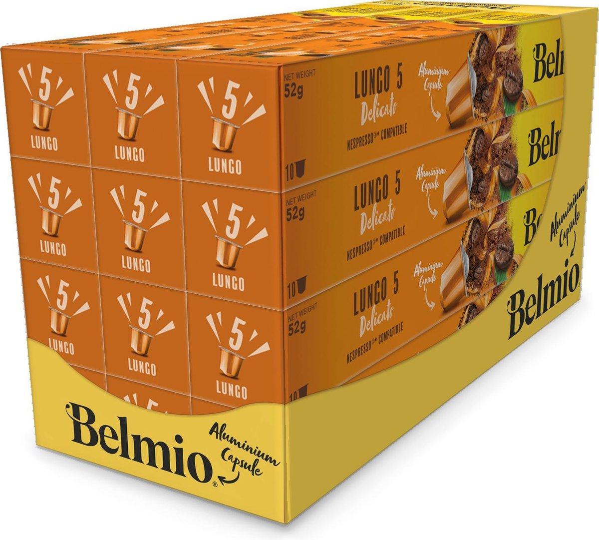 Belmio Nespresso cups (120 stuks) voor €11 @ Bol.com Plaza