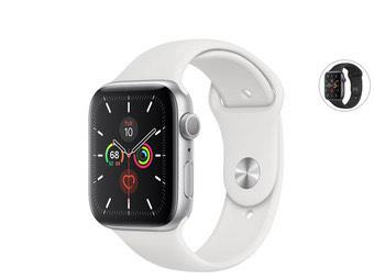 Apple Watch 5 Series 44mm - zwart of wit @ iBood
