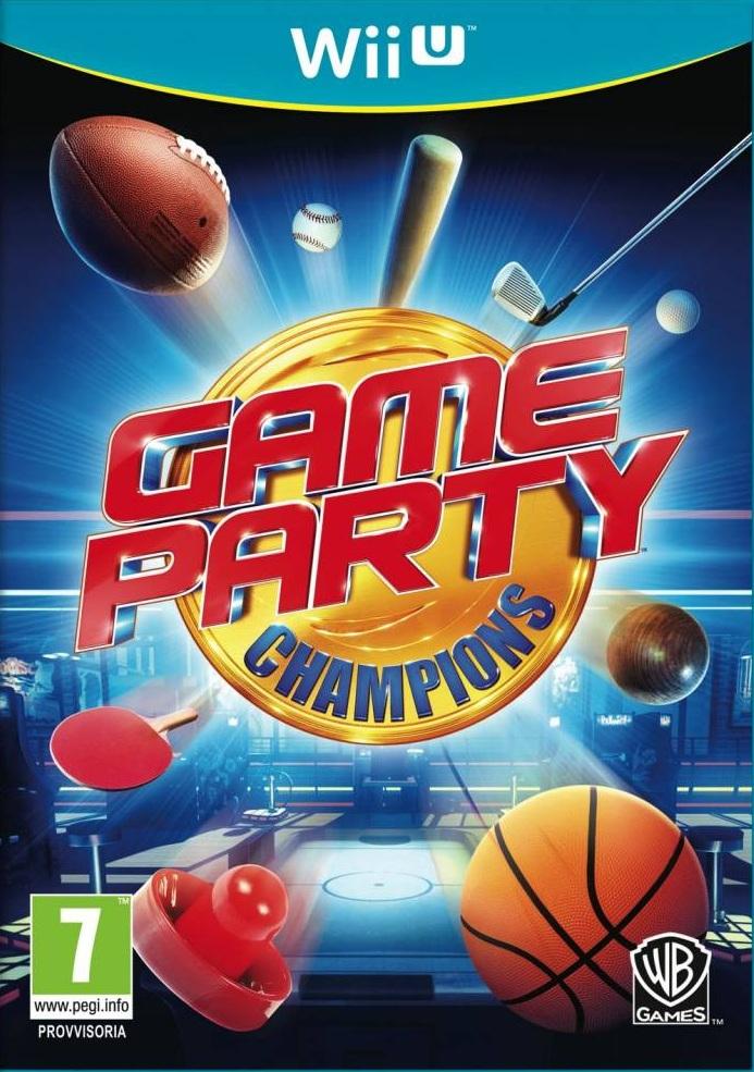Game Party Champions (Wii U) voor € 4,55 @ Zavvi