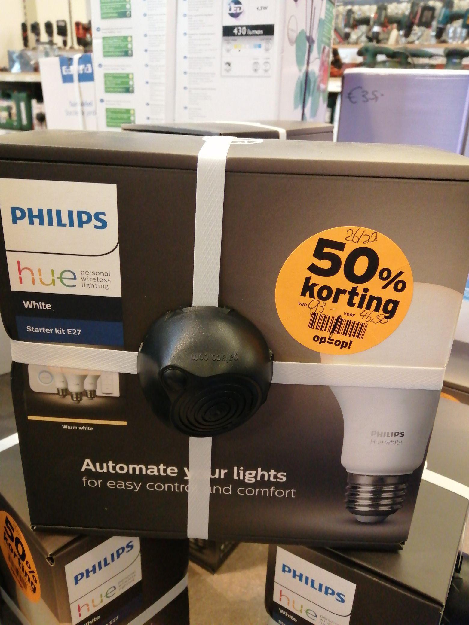 [Lokaal] Philips hue white starter kit Gamma Denbosch