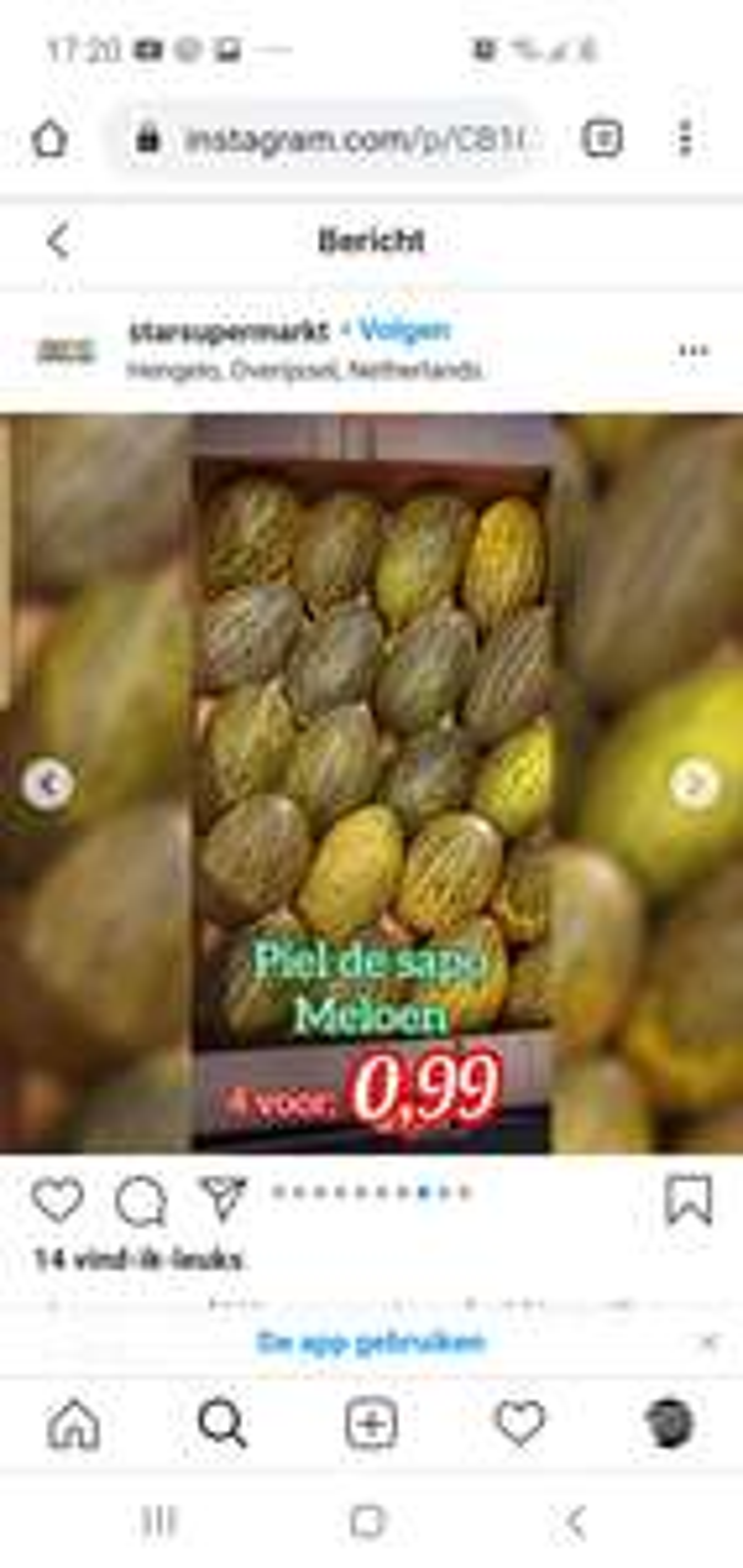 [Lokaal] Starr supermarkt Hengelo fruit en groente