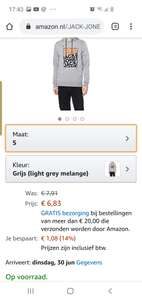 Jack & jones trui amazon.nl