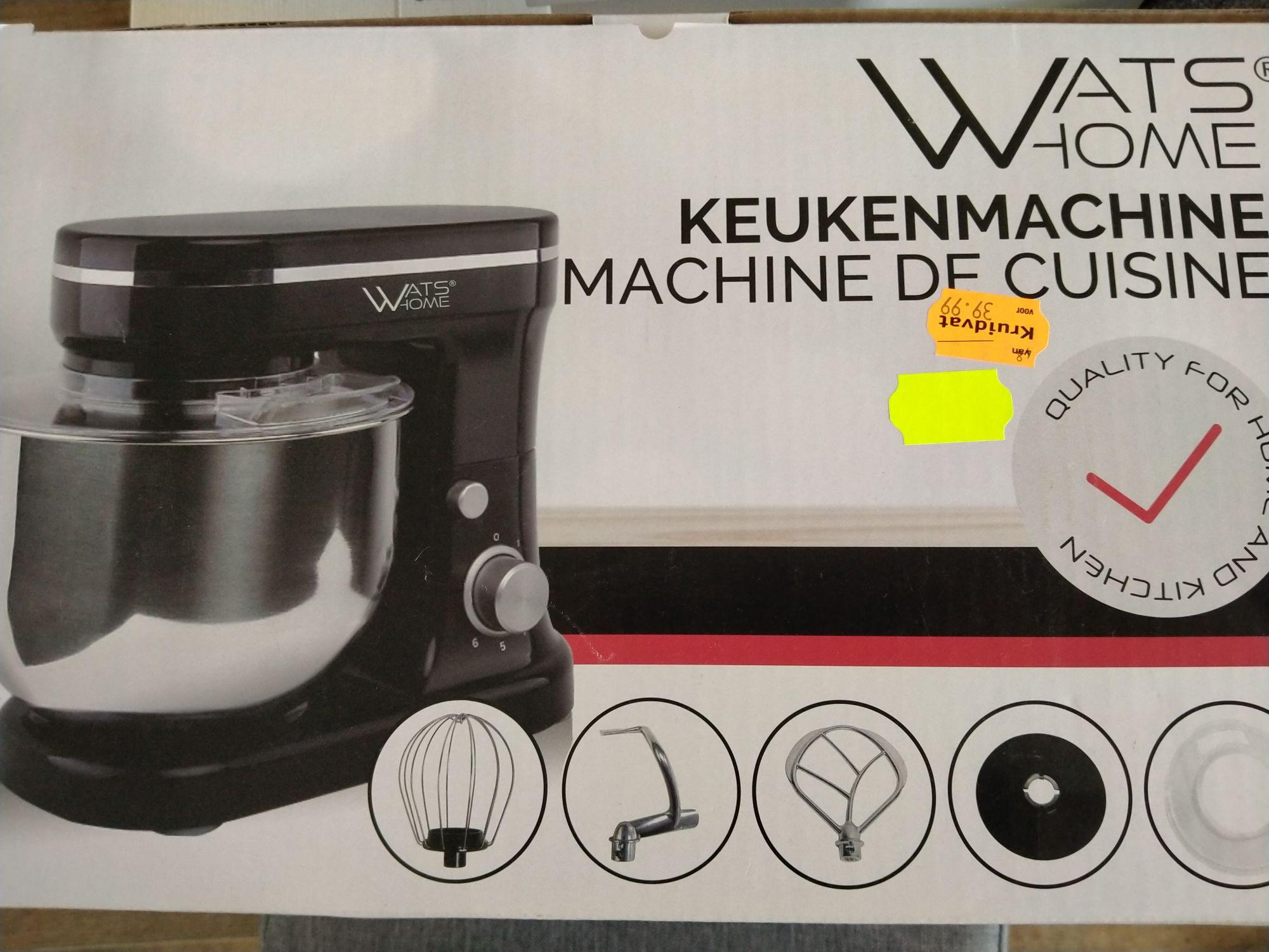 Lokaal? Watshome keukenmachine Kruidvat Prinsenbeek
