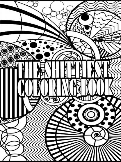 Gratis Shitty Kleurboek downloaden