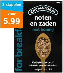 Eat Natural Granola 3 stuks @ Albert Heijn