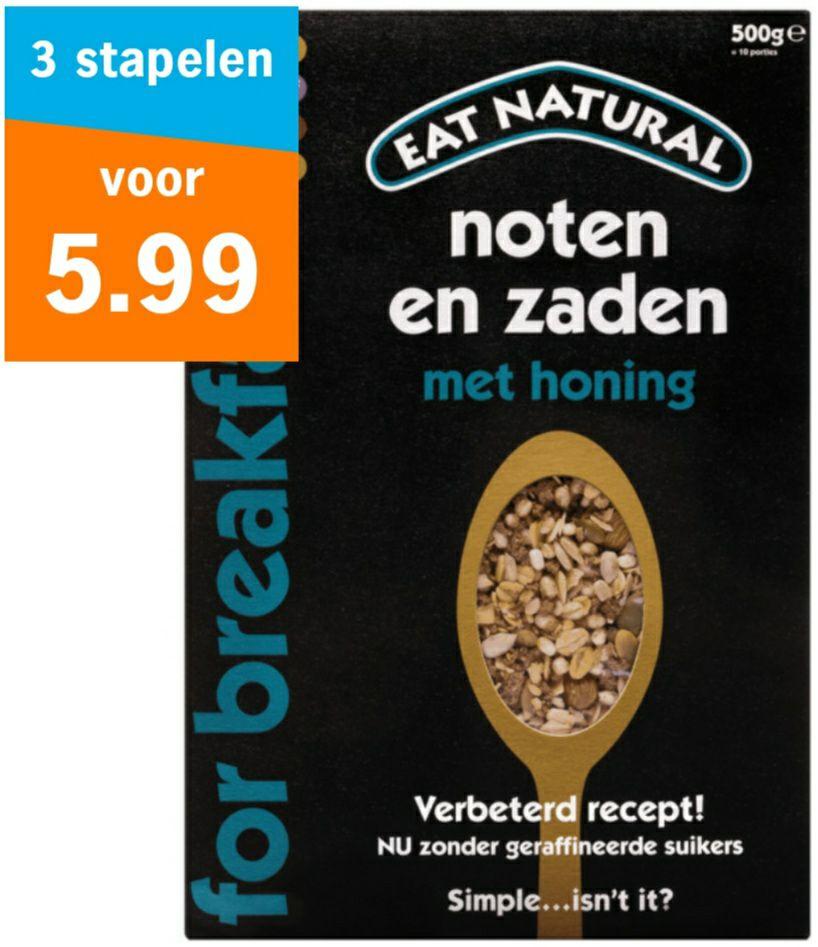 Eat Natural Granola 3 stuks @ Albert Heijn