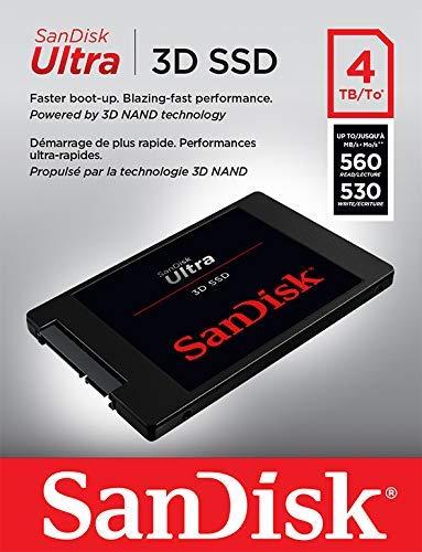 Flash Aanbieding: SSD SanDisk Ultra 3D 4 TB