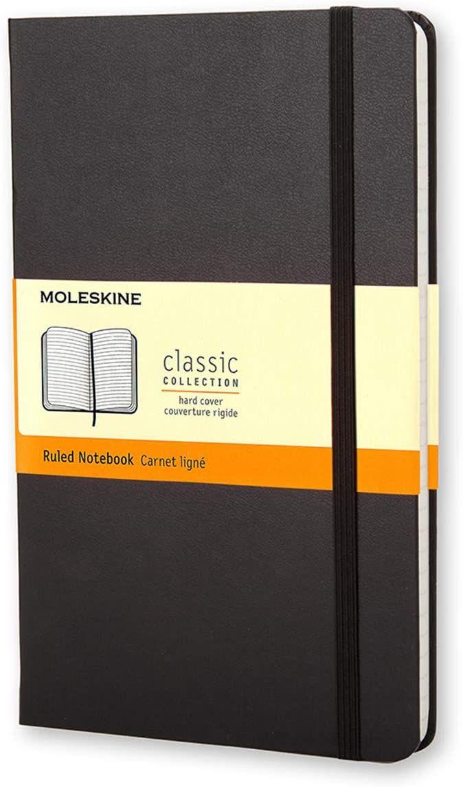 Moleskine Klassiek notitieboek Large, Hardcover, gelinieerd (zwart)