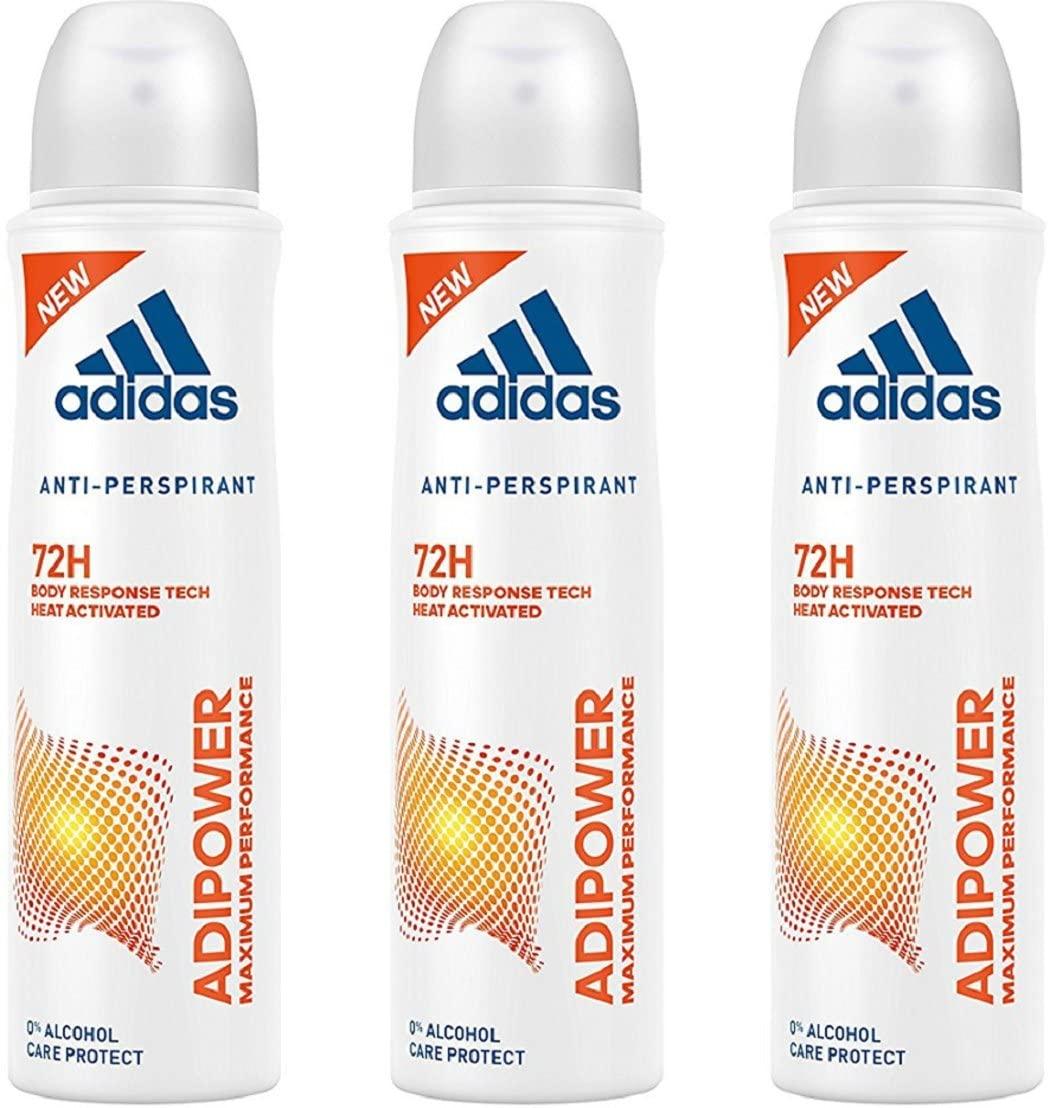 Adidas Adipower Deo Bodyspray (3 x 150 ml)